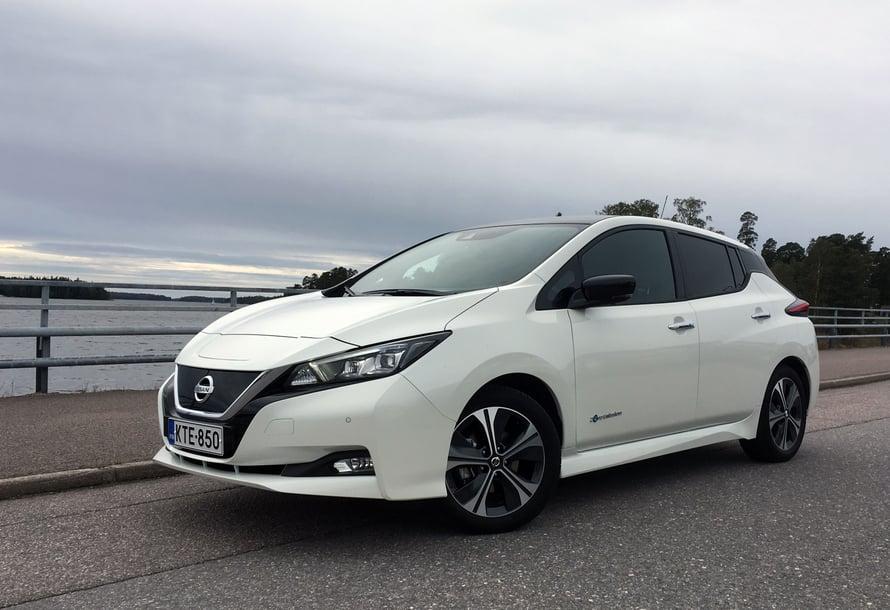 Nissan Leaf on maailman myydyin sähköauto.