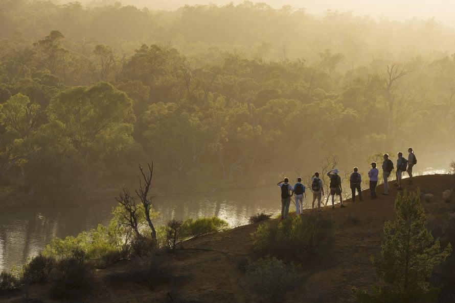 Murray on Australian pisin joki, 2500 kilometriä.