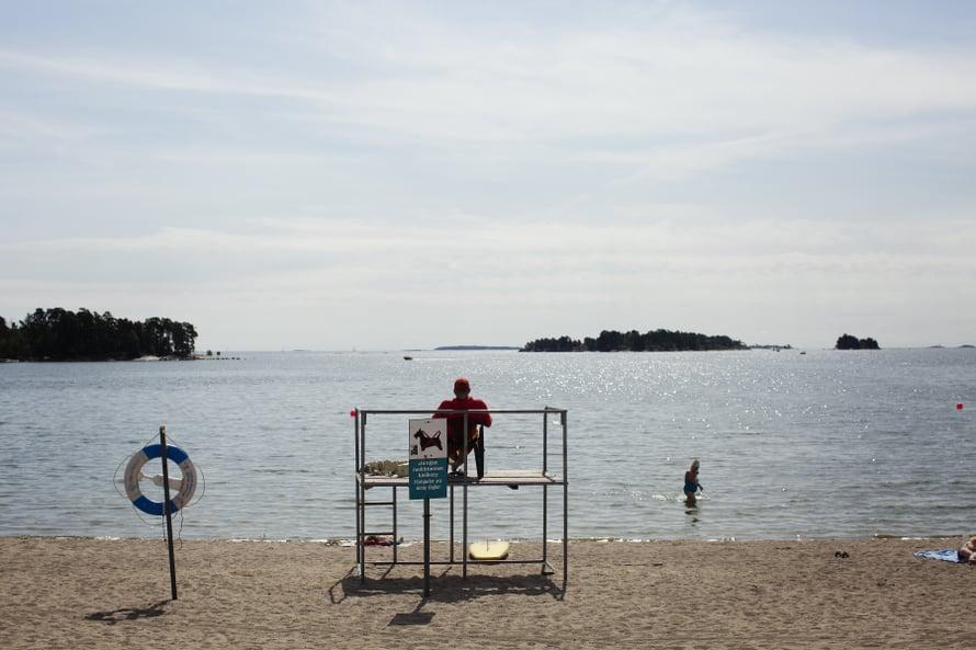 Vuosaaren Aurinkolahti on yksi Helsingin parhaista uimarannoista.
