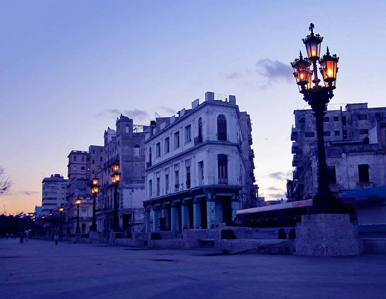 Tältä näyttää Havannassa, Kuubassa.