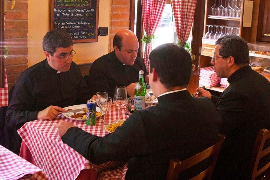 Papillista pastaseuraa saa Ristochiccossa.