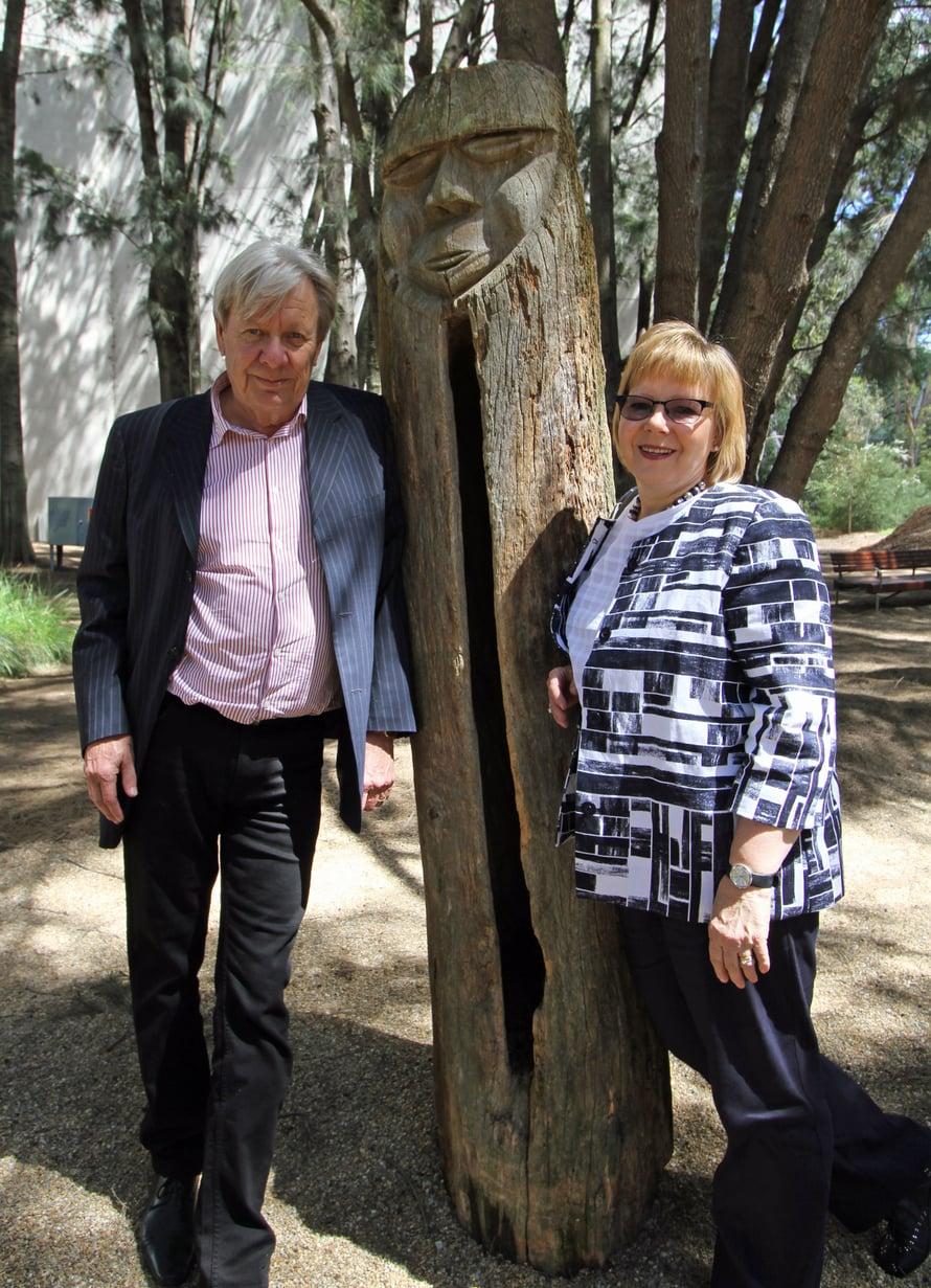 Alpo Raappana ja Maarit Lindfors ovat kotiutuneet Australiaan.
