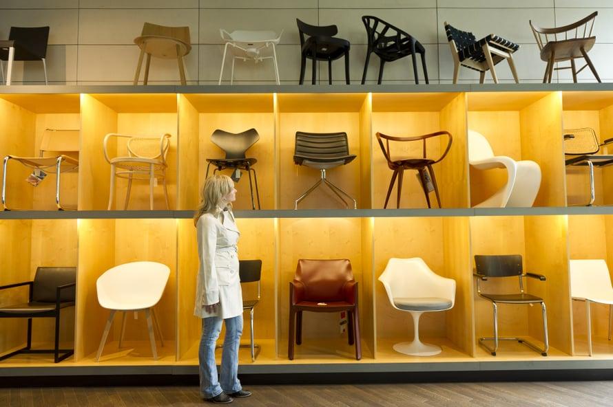 Design on saksalaisten vahvuuksia, ja Berliini on tyylikkään suunnittelun näyteikkuna.