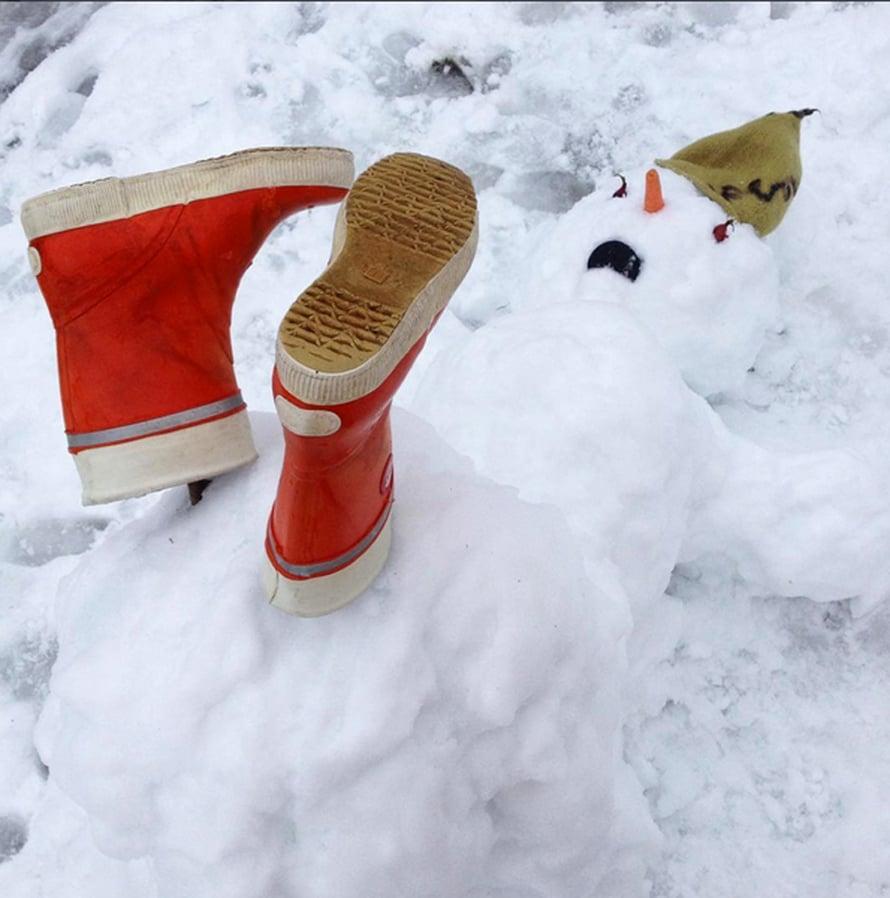 Lukijan Instagram-kuva on osuva kuva suomalaisesta talvesta.