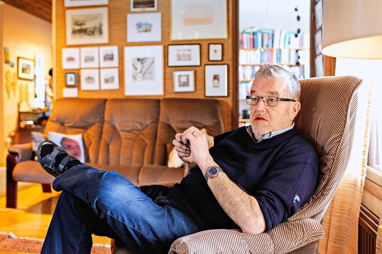 Matti J. Kuronen sanoo edelleen toipuvansa perhettään kohdanneista sairauksista.