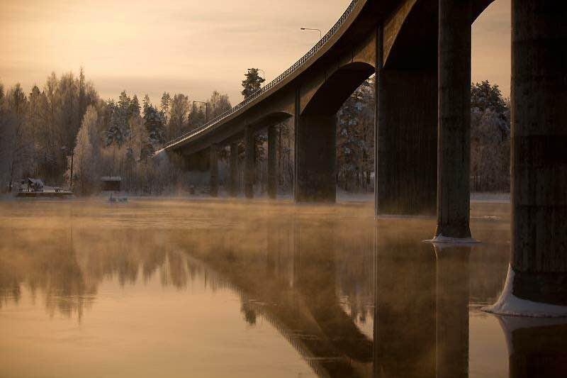 """Kati Ruotsalainen, Lahti: """"Pakkasta kuvanottohetkellä -30."""""""