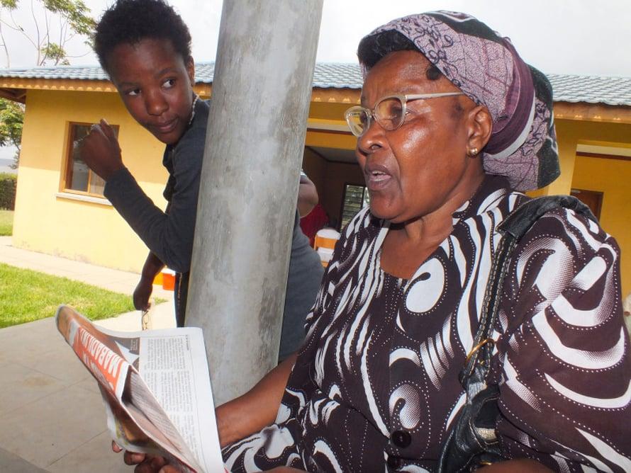 Unaona, näetkö, oli swahilinkielinen sana, jota tuli hoettua laseja sovittaneille.