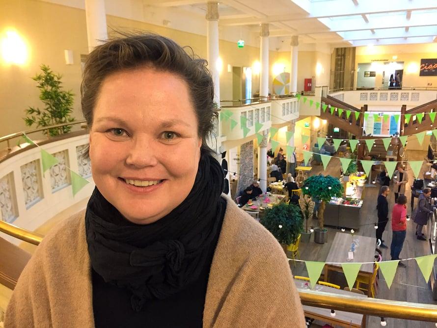 Anita Mäkelä.