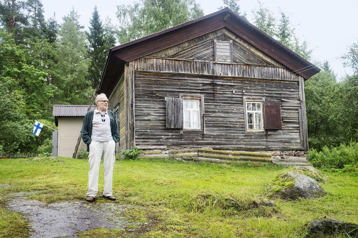 Henttosia on ollut tällä kunnaalla Antreassa 1600-luvulta lähtien.