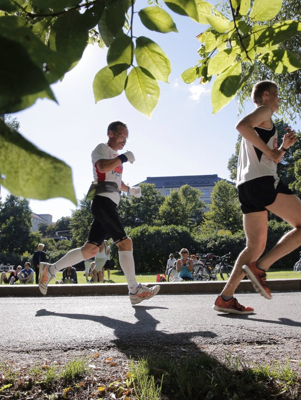 "Kuva: <span class=""photographer"">Helsinki city marathon.</span>"