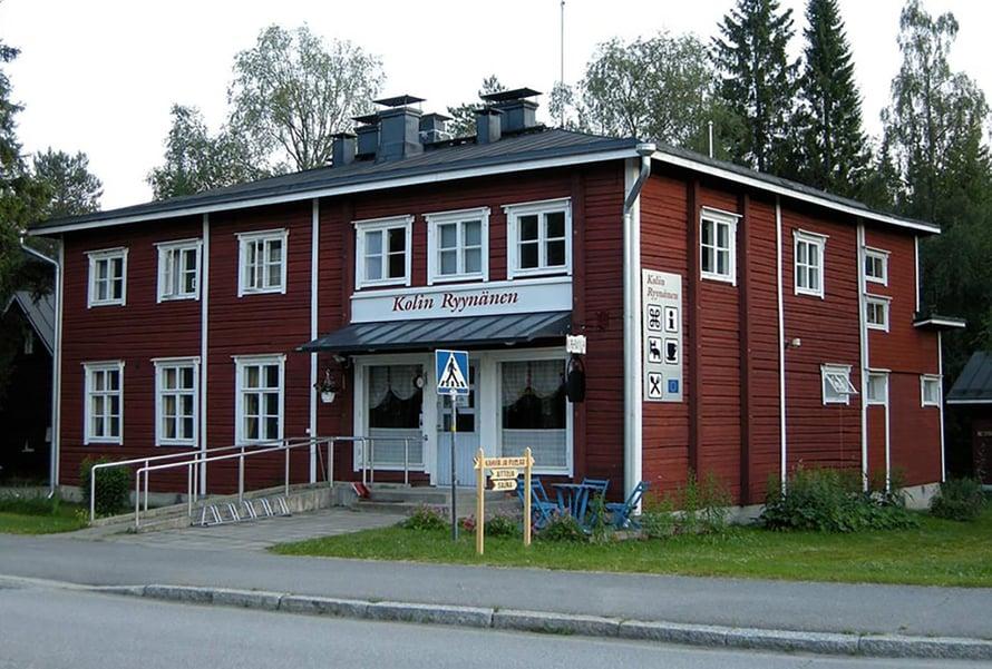Ravintola toimii liki satavuotiaassa talossa.