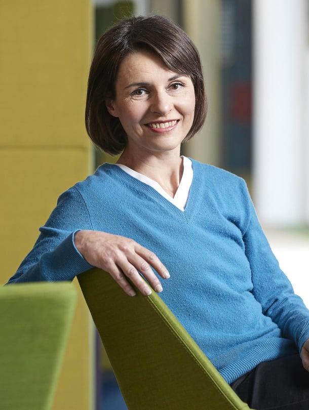 ET-lehden päätoimittaja Katriina Palo-Närhinen.