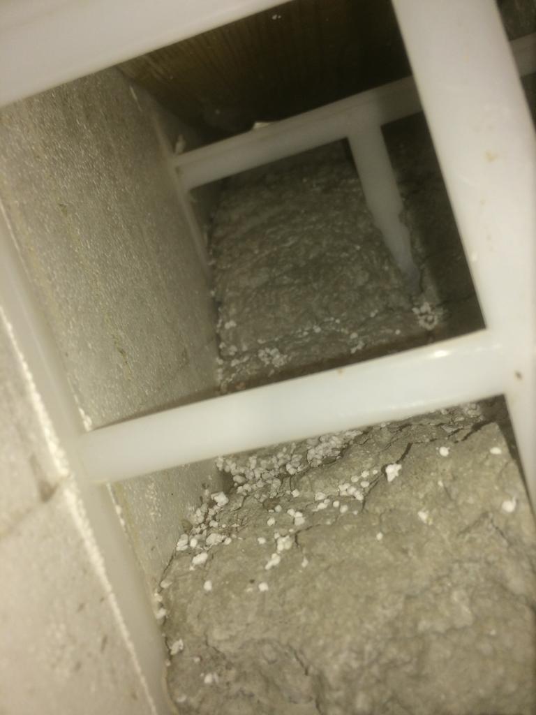 Tämän tyhjän tilan kohdalla pitäisi olla betonia.
