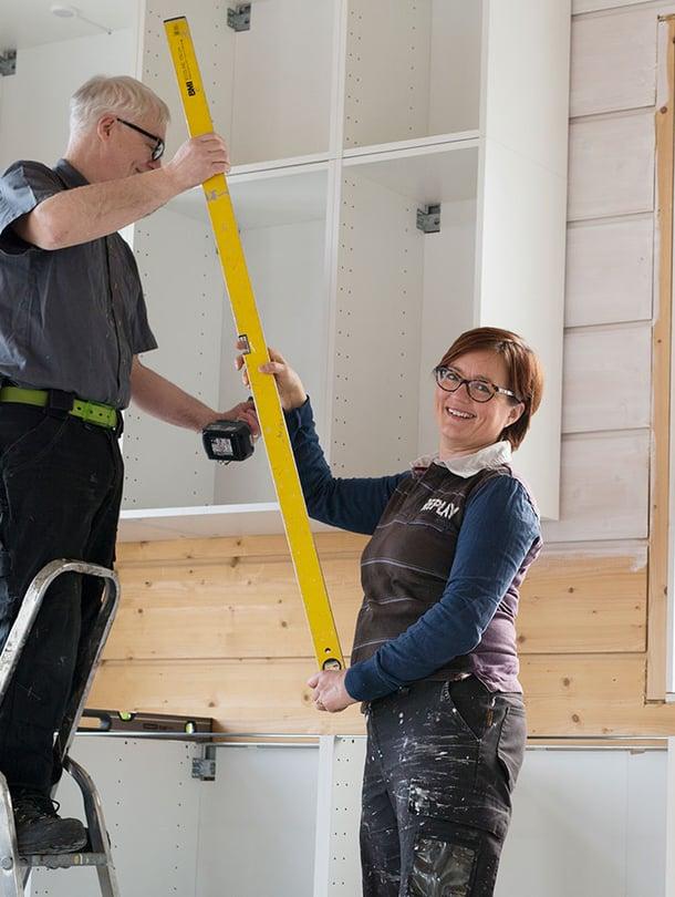 Arjan ensimmäinen blogi kertoi purjehdusreissusta. Nyt hän kirjoittaa talon rakentamisesta uudessa blogissaan.