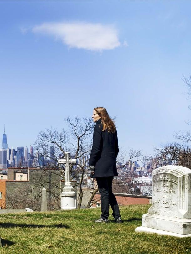Opastettu kierros sopii hyvin ensikertalaiselle.Green-Woodin hautausmaa New Yorkissa.