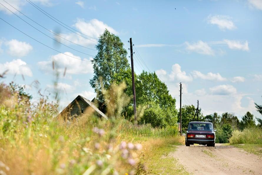 Sammatuksen kylässä ei ole enää montaa asukasta.