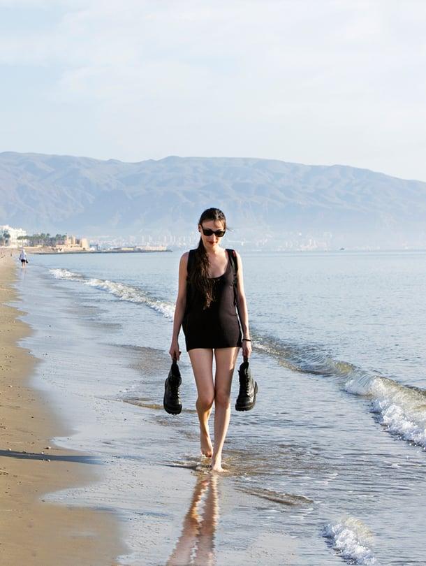 Roquetas de Marin rannat ovat loivasti viettäviä ja puhtaita.