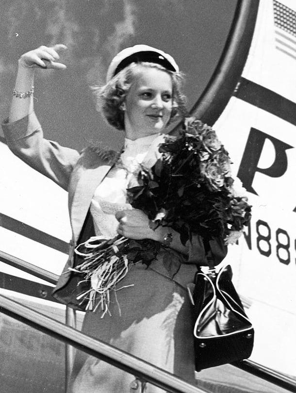 Teija Sopanen, Suomen Neito vuodelta 1953