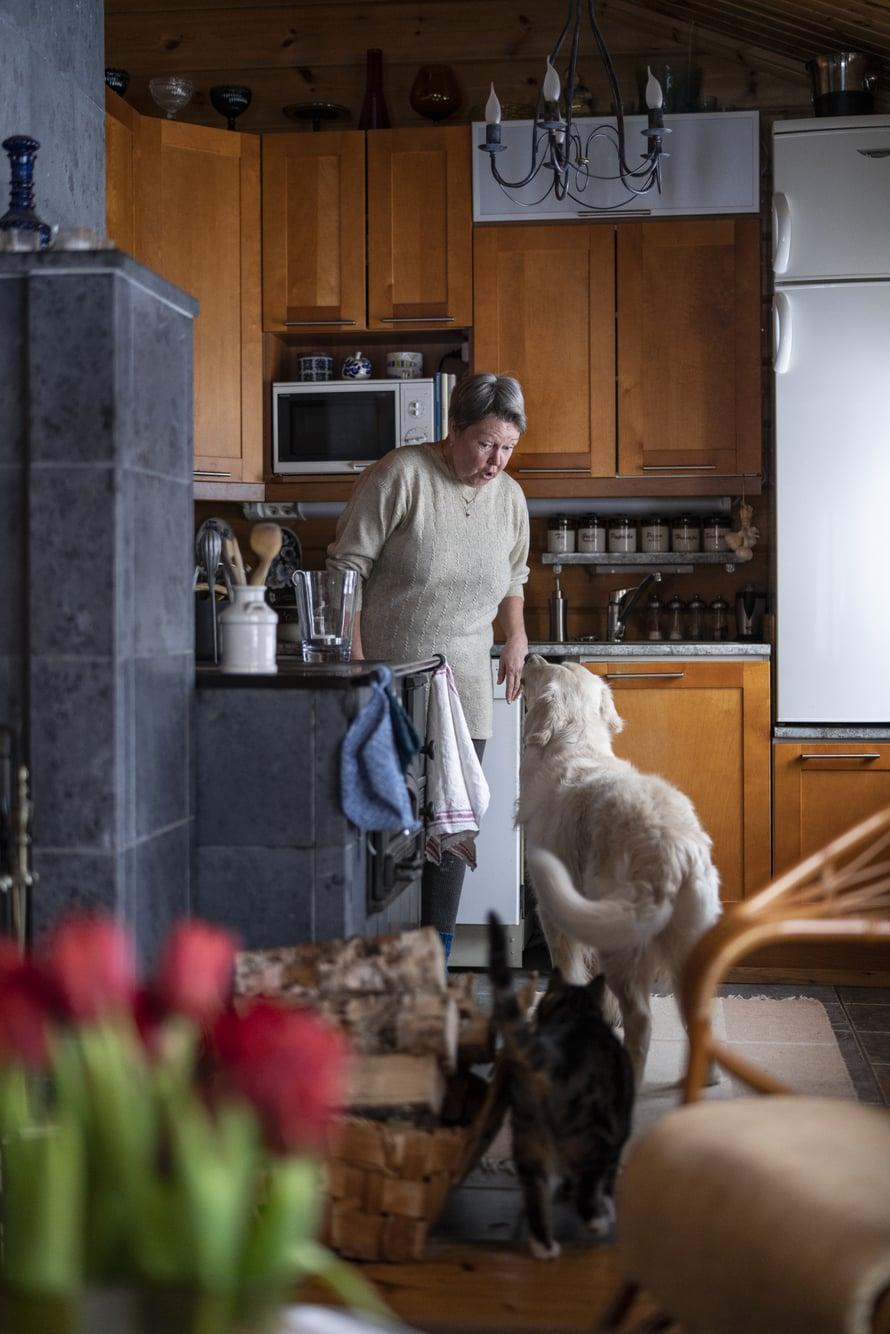 Irenehaaveileepitkistä lenkeistä yhdessä rakkaiden koiriensa kanssa.