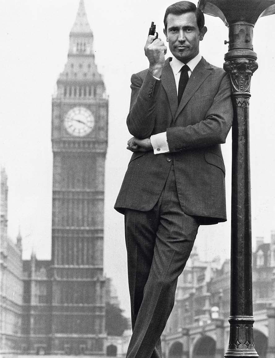 George Lazenby näytteli Bondia vain yhdessä elokuvassa.