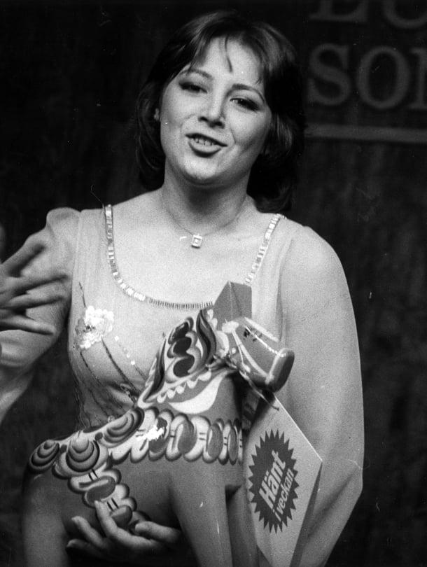 Parhaat euroviisut. Kuvassa Ranskan Marie Myriam vuonna 1977.