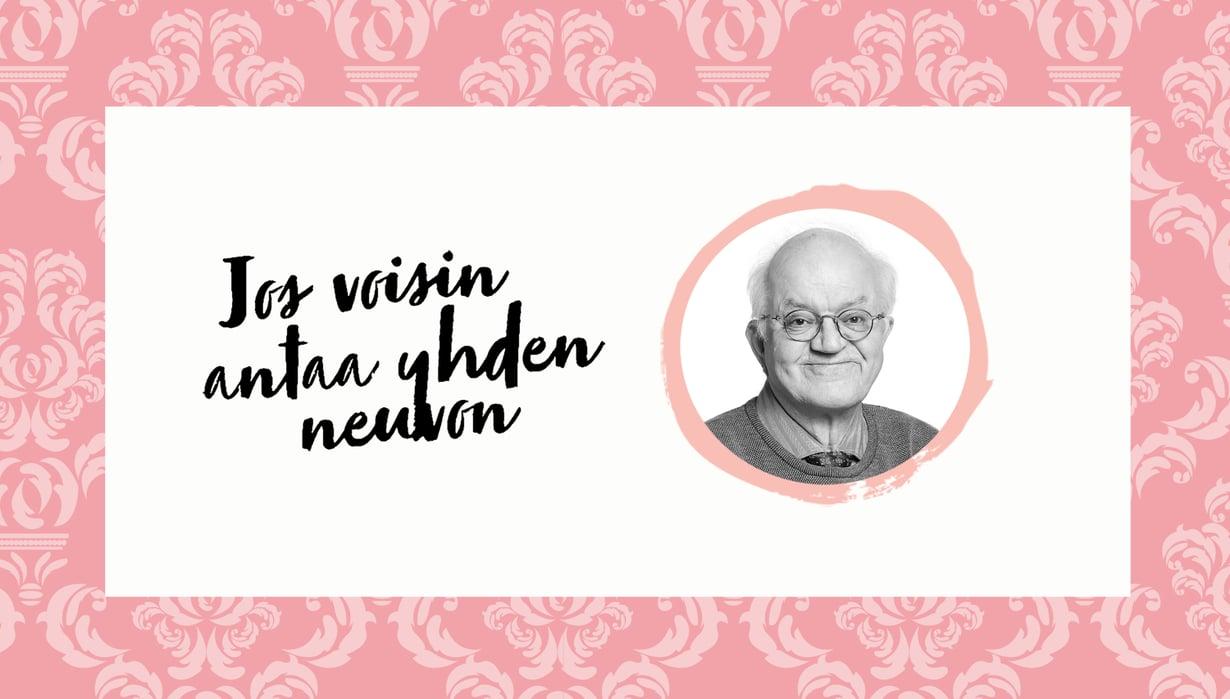 LastenpsykiatriJari Sinkkonen, 67. Häneltä on juuri ilmestynyt kirja Kiintymyssuhteet ihmisen elämänkaaressa.  Lisäksi hän on aloittanut hiljattin uuden työn lastenpsykiatrisella vastaanotolla.