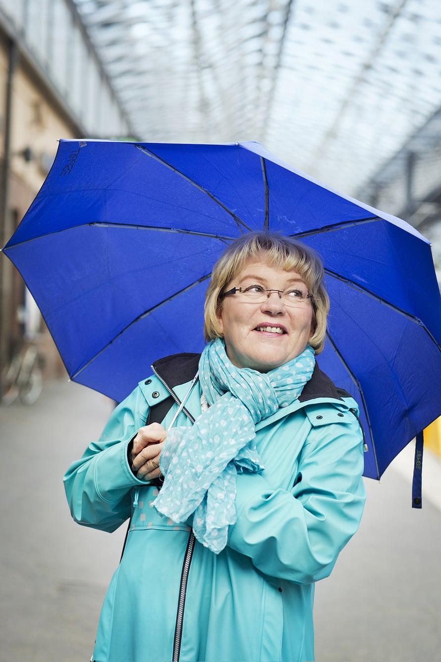 Tarja Kvarnströmin valinta on puhdas kaura.