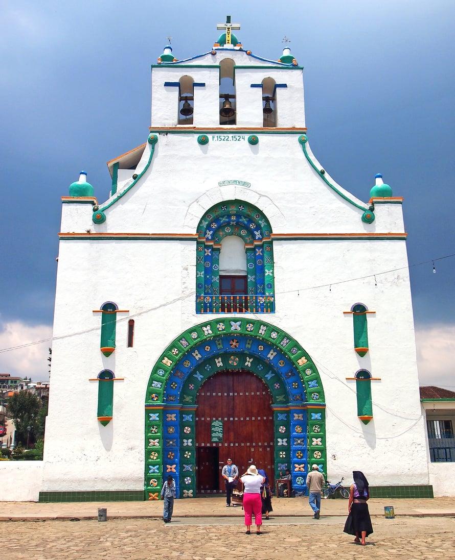 San Juan Chamulan kirkko on suosittu käyntikohde.