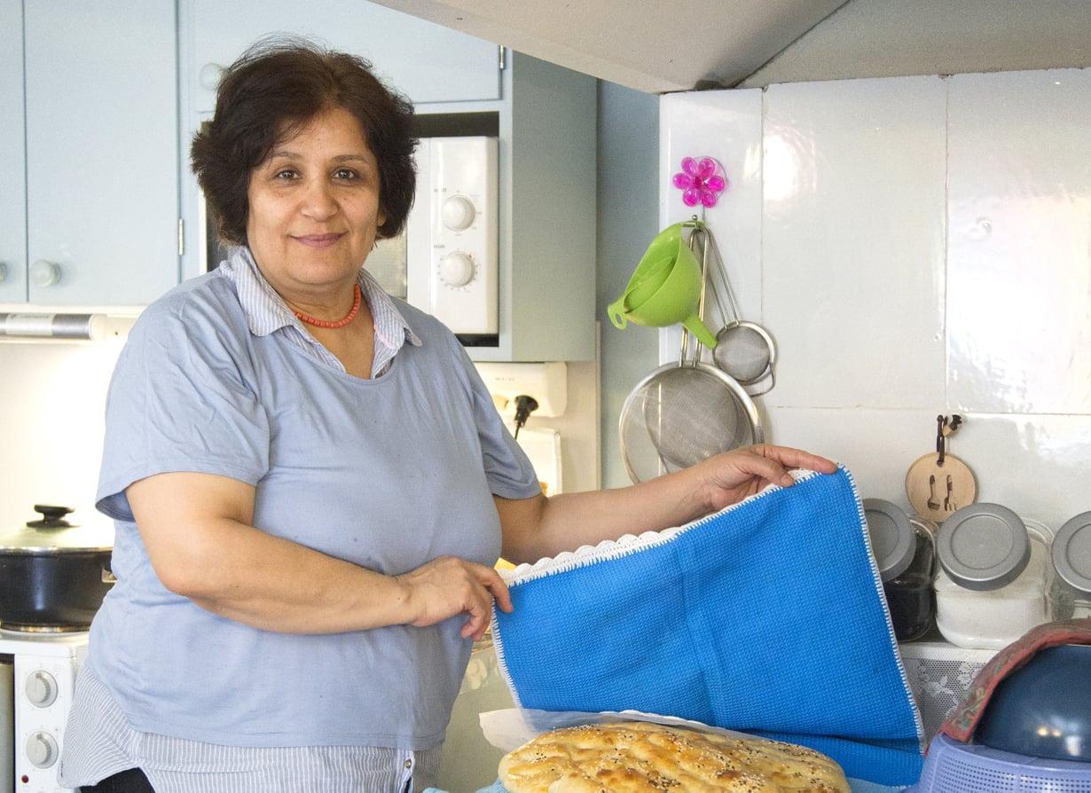 Sahla Tadayyon oppi ruuanlaiton omalta äidiltään.