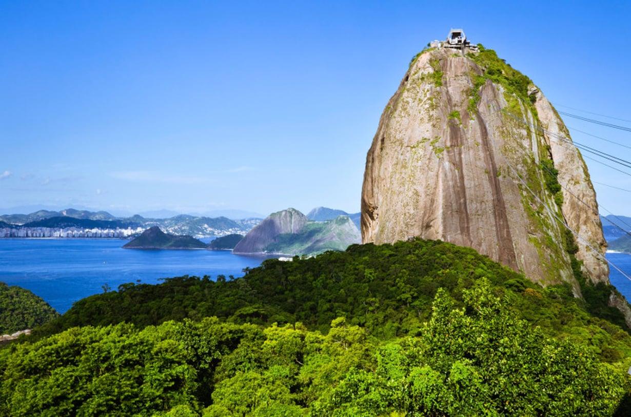 Meri oli Brasilian-matkan mieleenpainuvin muisto.