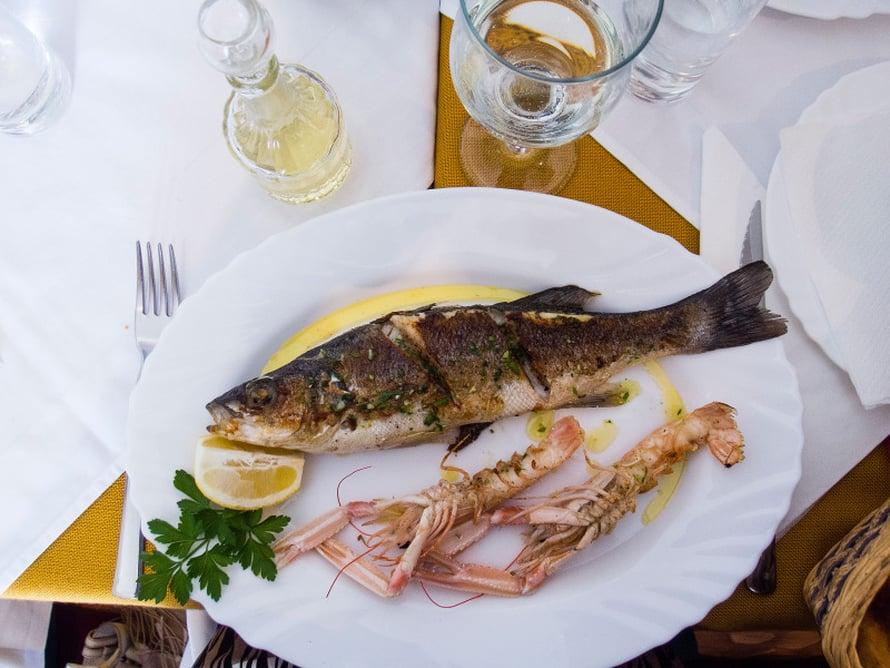 Taatusti tuoretta. Kala ja muut meren herkut ovat varma valinta.