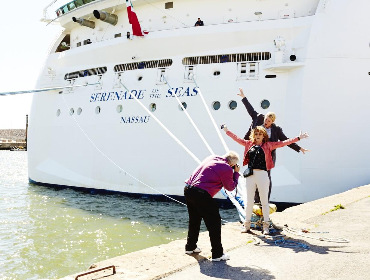 Valtaosa Serenade of the Seas -luksusristeilijän 2500 matkustajasta lähti tutustumaan Helsinkiin lavan 7 tunnin pysähdyksen aikana.