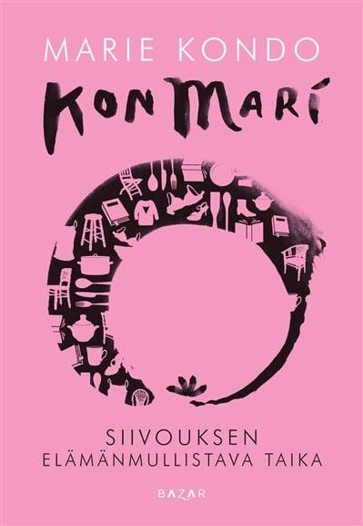 Marie Kondon KonMari-kirja lupaa siivouksen mullistavan koko elämän.