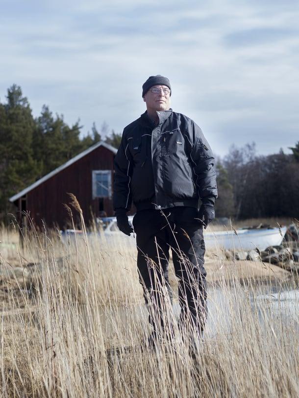 """""""Henkiinjäämisestäni kiitän Super Puman osaavaa miehistöä ja Tyksin lääkäreitä"""", Patrik Finneman sanoo."""