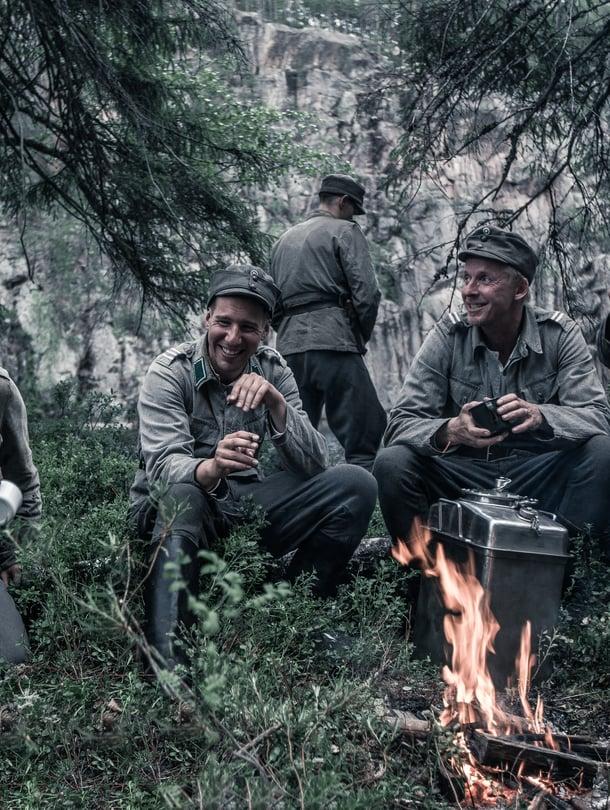Salo, Hietanen, Rokka ja Koskela (Akseli Kouki, Aku Hirviniemi, Eero Aho ja Jussi Vatanen).