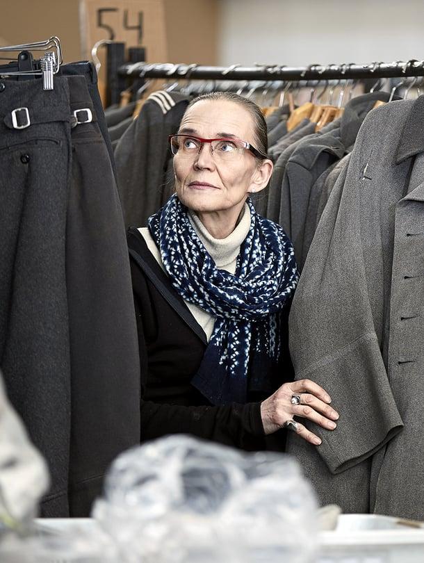 Marjatta Nissinen on Jussi-palkittu pukusuunnittelija. Takana on kymmeniä elokuvia sekä teatteri- ja oopperaproduktioita.