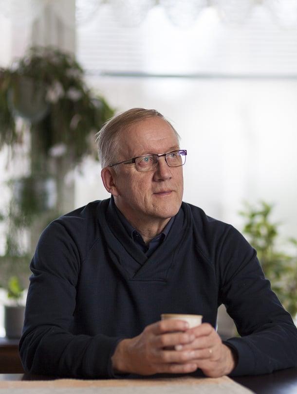 Urho Mäkäräinen asuu edelleen Ristijärvellä, Kaisan syntymäpitäjässä.
