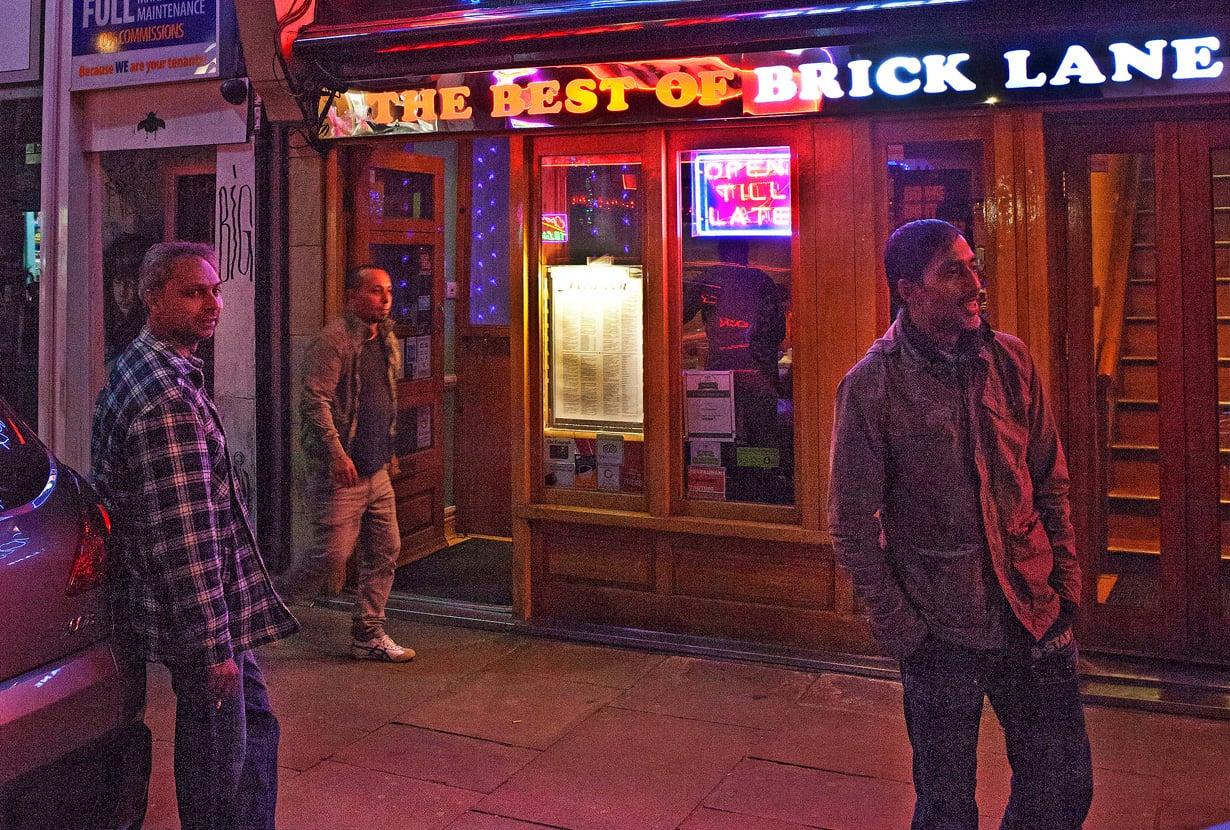 Brick Lanelta saa Lontoon parhaat curryt.