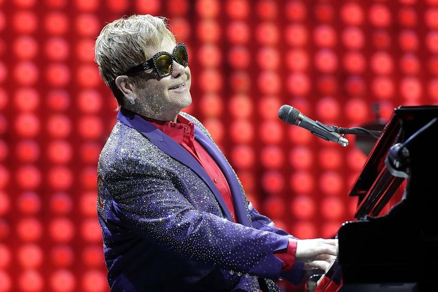 Elton John, 70, veti kahden tunnin konsertin ilman väliaikaa. © Pedro Becerra / STAGEVIEW