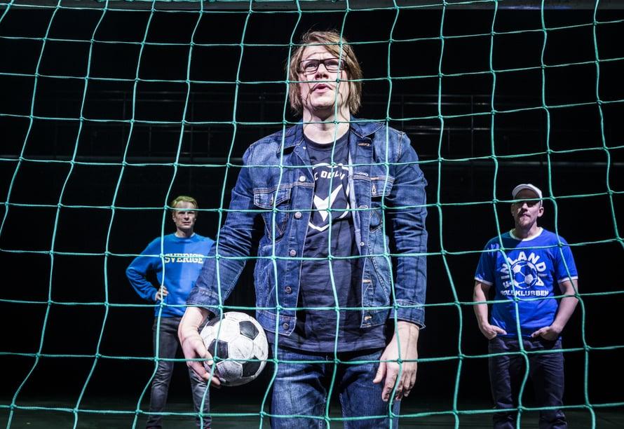 Kuvassa Joose Mikkonen, Aki Pelkonen ja Timo Pesonen.