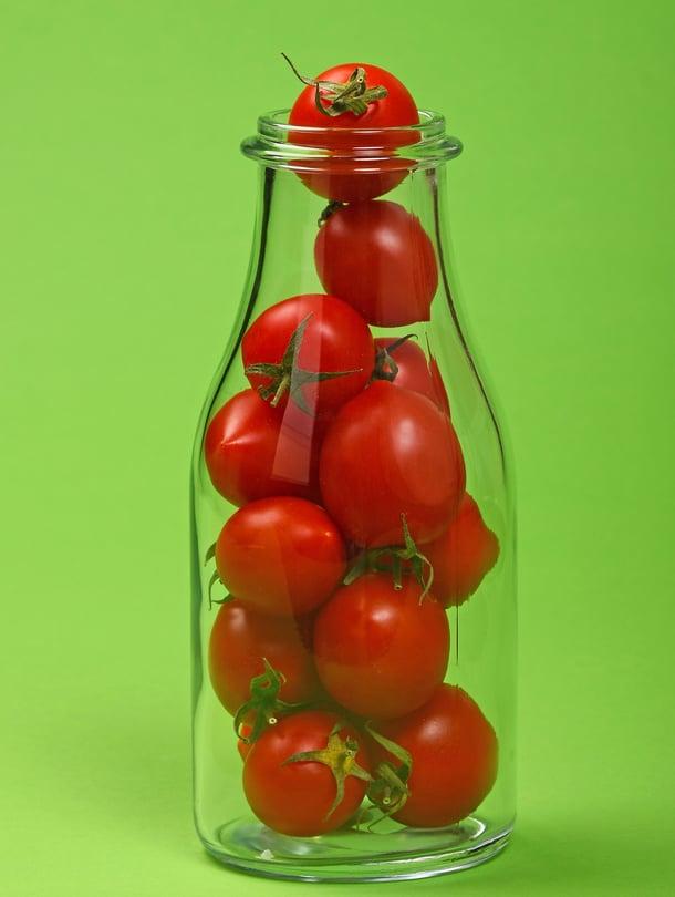 Ketsupissa tomaatin voima-aineet ovat tiiviissä muodossa.