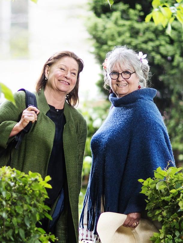 Satu Milonoffin ja Kristiina Halkolan ystävyys on jatkunut lähes 50 vuotta.