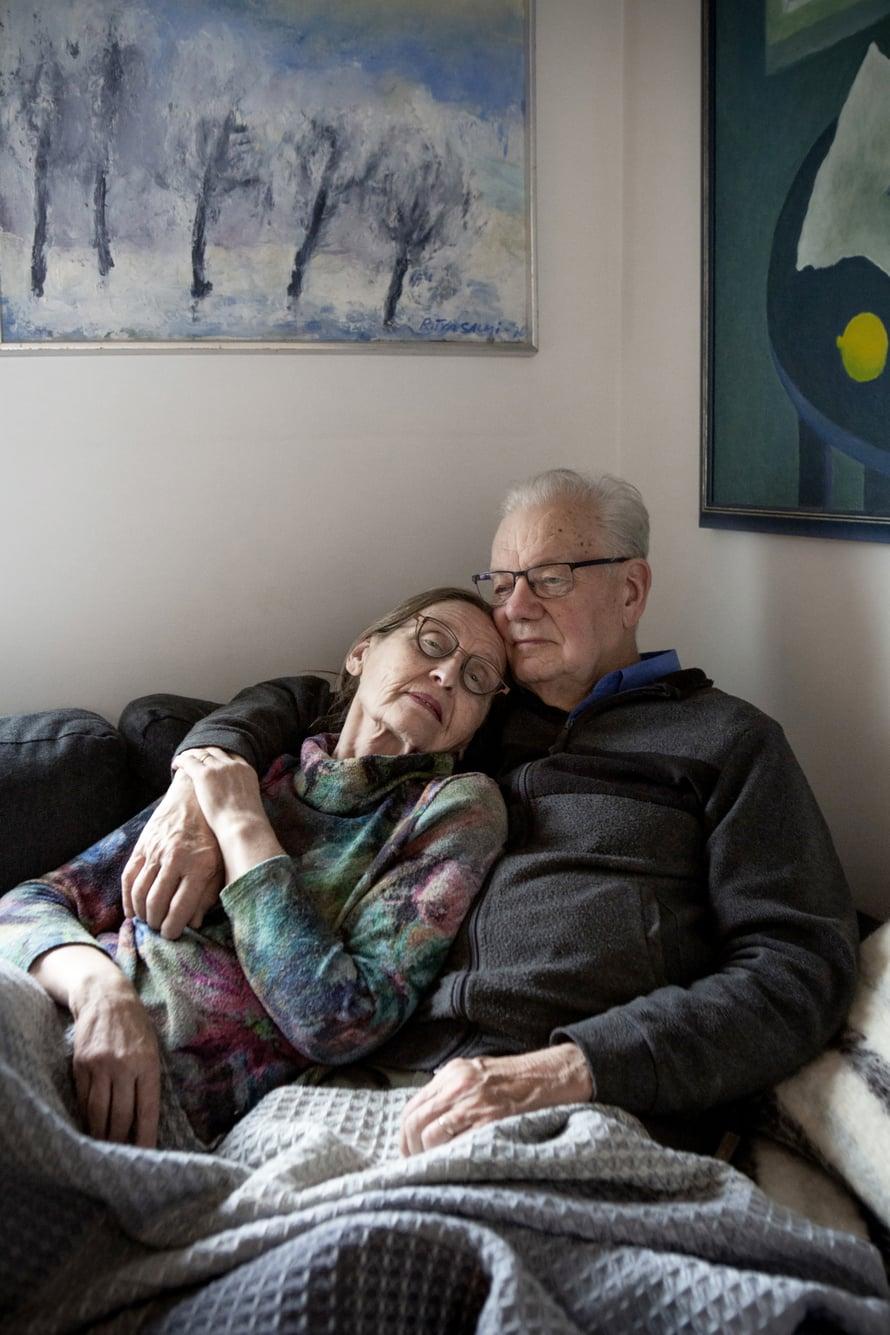 Maija ja Kari Paavilainen ovat olleet naimisissa vuodesta 1968.