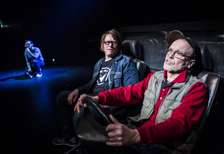 Kuvassa Janne Raudaskoski, Aki Pelkonen ja Hannu Pelkonen.