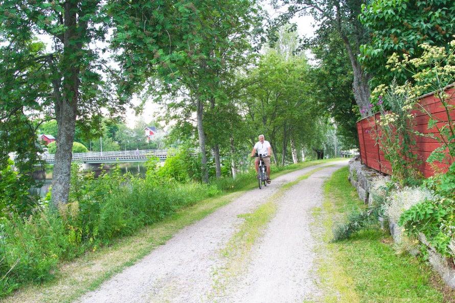 Uudessakaarlepyyssä oli mukava pyöräillä.
