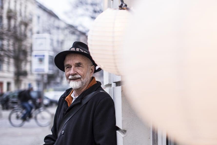 – Parasta Berliinissä ovat taide, hortoilu ja ystävien tapaaminen, Juhani Seppovaara sanoo.