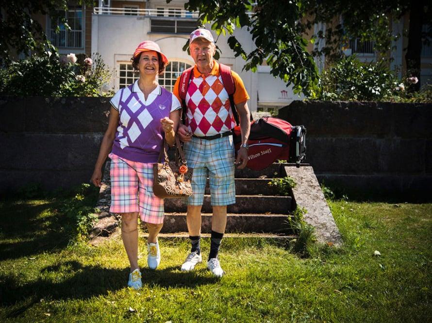 Eilaa ja Rampea esittävät Heidi Herala ja Pirkka-Pekka Petelius. (Kuva Juha Fiilin)
