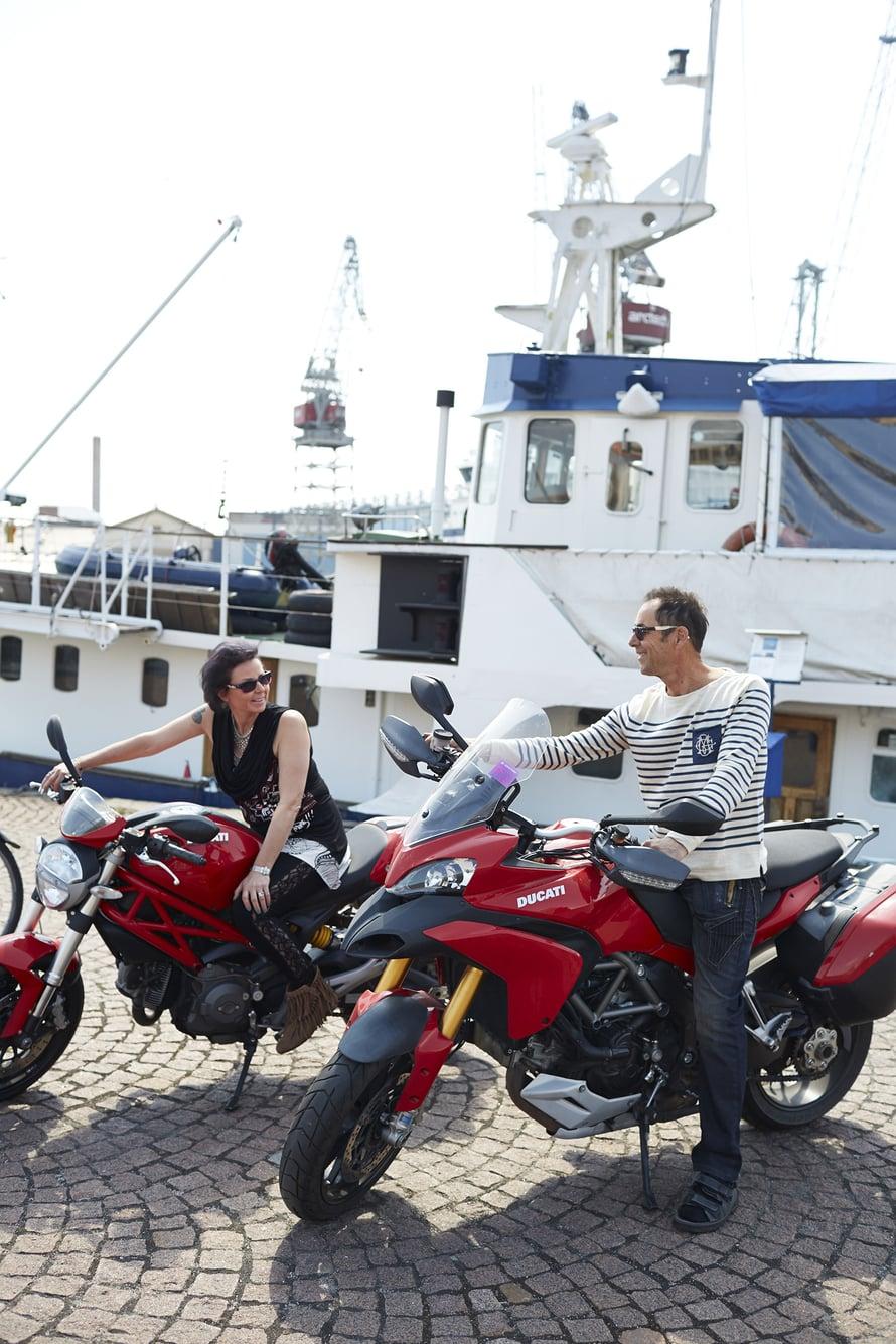Christian innostui moottoripyöristä istuttuaan aikansa Mervin kyydissä.