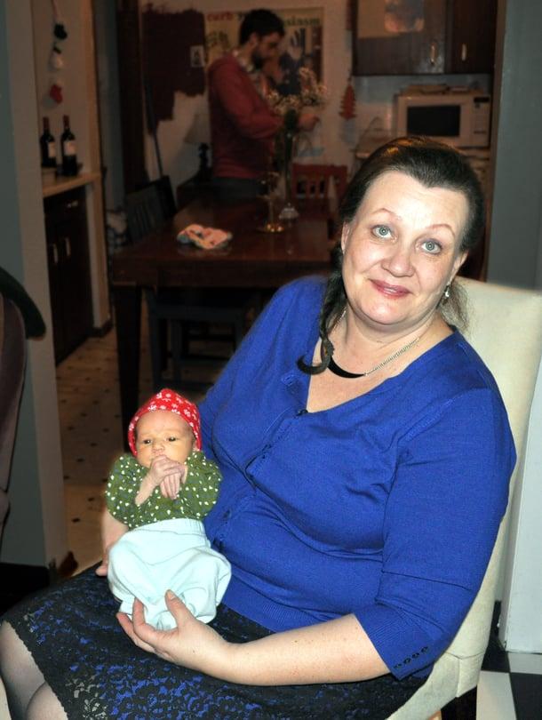 Tiina Närvänen on viettänyt monta joulua Thunder Bayssä lapsiensa ja lastenlapsiensa kanssa. Tänä vuonna nuorimmaiset ovat Skype-yhteyden päässä.