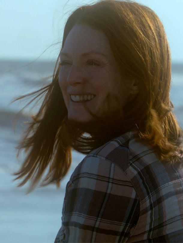 Julianne Moore on voittanut Oscar- ja Golden Globe -palkinnot roolistaan Edelleen Alice -elokuvassa.
